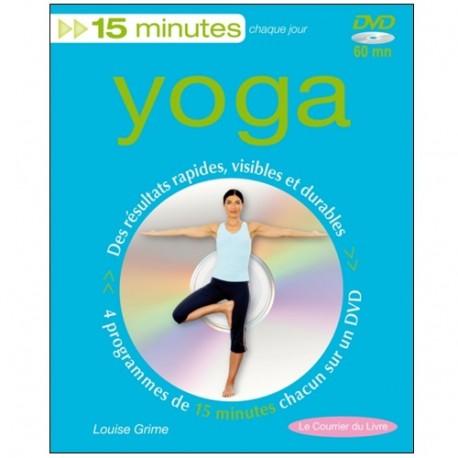Yoga 15 minutes chaque jour (+dvd) - Louise Grime