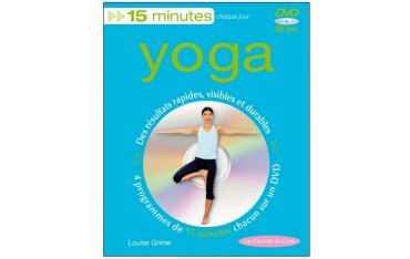 Yoga, 15 minutes chaque jour (dvd inclus) - Louise Grime