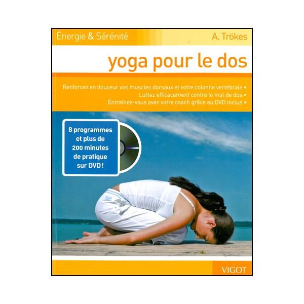 Yoga pour le dos ( DVD inclus ) - A Trökes