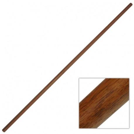 JO, bâton 128 cm (diam. 2.5 cm) - Chêne Rouge Taïwan
