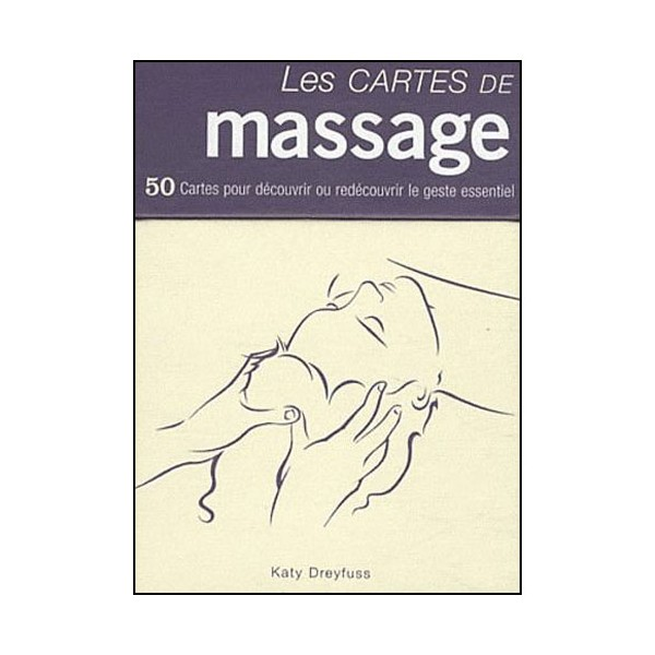 Les cartes de Massage (coffret 50 cartes) - Dreyfuss