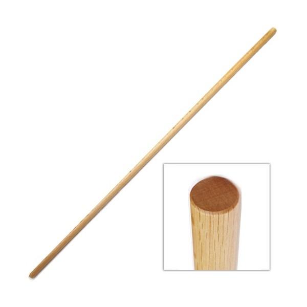 JO, bâton 128 cm (diam. 2.5 cm) - Chêne Rouge JAPON