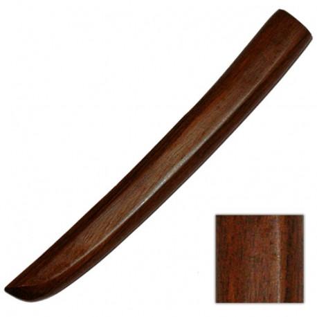 TANTO BOIS, couteau en bois, 29 cm - Chêne Rouge Taiwan