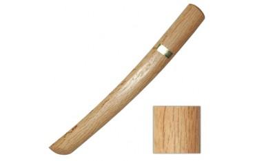 TANTO BOIS, couteau en bois, 29 cm - Chêne Blanc Japon