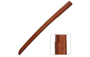 Bokken Shoto, sabre court en bois, 54 cm - Chêne Rouge Taiwan